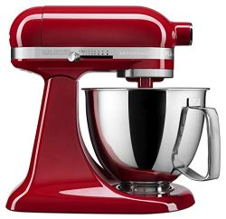 KitchenAid KSM3316XER Artisan Mini Stand Mixers, 3.5 quart, Empire Red