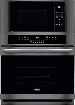 Frigidaire FGMC3066UD 30 Inch Electric Oven/Microwave Combo Double Wall Oven with 3 Oven Racks i ...