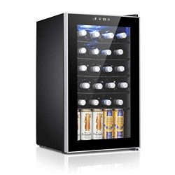 Antarctic Star 24 Bottle Wine Cooler/Cabinet Refigerator Small Wine Cellar Beer Counter Top Bar  ...
