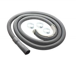 Washing Machine Drain Hose | 12 Foot | Universal Fit | Heavy Duty Discharge Hose for Washer