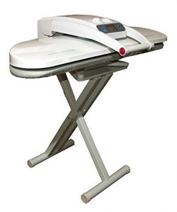 Ironing Steam Press for Dry or Steam Pressing, 1800 Watts, INCLUDES STAND! 38 Powerful Jets of S ...