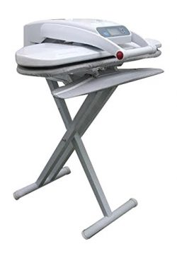 Ironing Press With Integrated Sleeveboard INCLUDES STAND! For Dry or Steam Pressing, 1400 Watts! ...