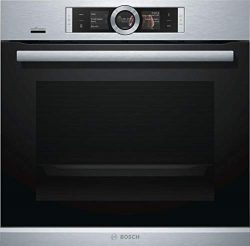 Bosch HBE5452UC 500 Series 24 Inch Smart 2.5 cu. ft. Total Capacity Electric Single Wall Oven wi ...