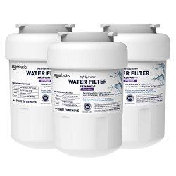 AmazonBasics Replacement GE MWF Refrigerator Water Filter Cartridge – Pack of 3, Premium F ...