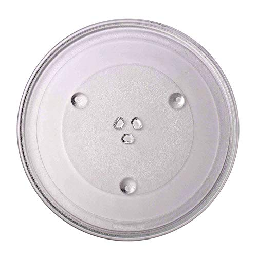 Microwave Plate Replacement, 12.5-inch Diameter Turntable Microwave Plate, Replacement Glass Tra ...