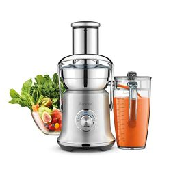 Breville the Juice Fountain Cold XL Extra-Large 70oz Brushed Stainless Steel Centrifugal Juicer  ...