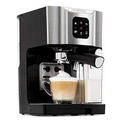 Klarstein BellaVita Coffee Machine • 3-in-1 Function for Espresso, Cappuccino and Latte Macchiat ...
