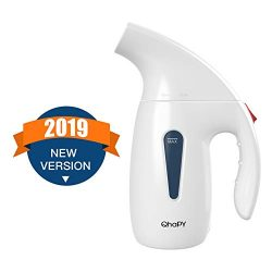 QhaPY Garment Steamer for Clothes, Compact Powerful Portable Handheld Steamer for All Fabrics,Wr ...