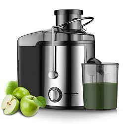 Homeleader Juicer Juice Extractor 3 Speed Centrifugal Juicer with Wide Mouth, for Fruits and Veg ...