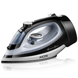 AICOK Steam Iron 1700W Professional Garment Steamer with Retractable Cord, Variable Temperature  ...