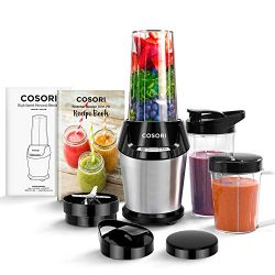 COSORI Blender for Shakes and Smoothies, 10-Piece 800W Auto-Blend High Speed Smoothie Blender/Mi ...
