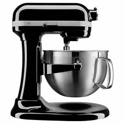 KitchenAid KP26M9XCOB 6-Quart Bowl-Lift Professional Mixer, Onyx Black