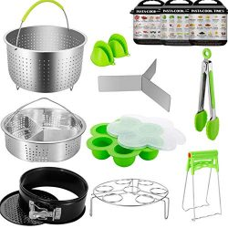 Instant Pot Accessories – 13 PCS Accessories Compatible with 5/6/8 Qt Instant Pot / Pressu ...