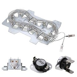 Dryer Heating Element(DC47-00019A)for Samsung, Thermal Fuse( DC96-00887A) and (DC47-00016A ...