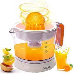 Electric Citrus Juicer, Large Capacity | Auto Reverse Pulp Fresh Oranges, Lemons, Limes, Grapefr ...
