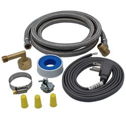 Supplying Demand 6572 Universal Dishwasher Installation Kit Compatible With GE, Frigidiare, Whir ...