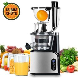Aobosi Slow Masticating juicer Extractor, Cold Press Juicer Machine, Quiet Motor, Reverse Functi ...