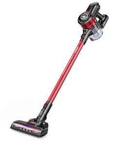 Cordless Vacuum, ONSON Stick Vacuum Cleaner, Powerful Cleaning Lightweight Handheld Vacuum with  ...