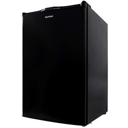 Northair Upright Freezer with 3.0 Cubic Feet Capacity, Compact Reversible Single Door Vertical F ...