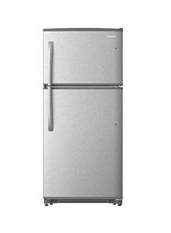 Daewoo RTE21GBSLS Top Mount Refrigerator, 21 Cu.Ft, Stainless