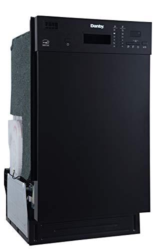 Danby DDW1804EB Built in Dishwasher, Black