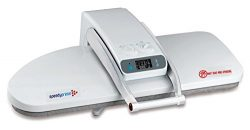 Ironing Press for Dry or Steam Pressing, 1800 Watts! 38 Powerful Jets of Steam, 100lbs of Pressu ...
