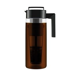 Takeya 10311 Patented Deluxe Cold Brew Iced Coffee Maker with Airtight Seal & Silicone Handl ...