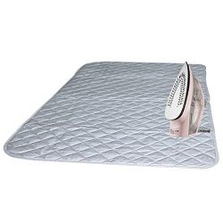Magnetic Ironing Mat Blanket Ironing Board Replacement,Iron Board Alternative Cover/Quilted Wash ...