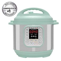Instant Pot IP-DUO60TEAL Duo 6 Qt 7-in-1 Multi-Use Programmable Pressure, Slow, Rice Cooker, Ste ...