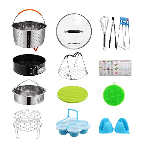 Gift Pack Accessories Set for Pressure Cookers, Universal Compatible with 5/6/8 Qt – Origi ...