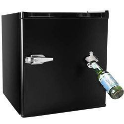 1.62 CU. FT Compact Refrigerator MIni Fridge with Bottle Opener Chiller and Freezer Compartment  ...