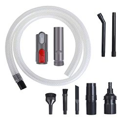 LANMU Micro Vacuum Accessory Kit Compatible with Dyson V11 V10 V8 V7 V6 Vacuum Cleaners with Qui ...