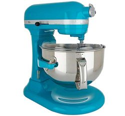 KitchenAid RKP26M1XON Professional 600 Stand Mixers, 6 quart, Ocean Drive (Renewed)