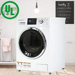 BestAppliance Washer Dryer Combo Combination Washing Machine Turbo Wash 2.7Cubic. ft. Capacity C ...