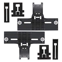 [Latest Version] UPGRADED W10350376 Dishwasher Top Rack Adjuster & W10195839 Dishwasher Rack ...