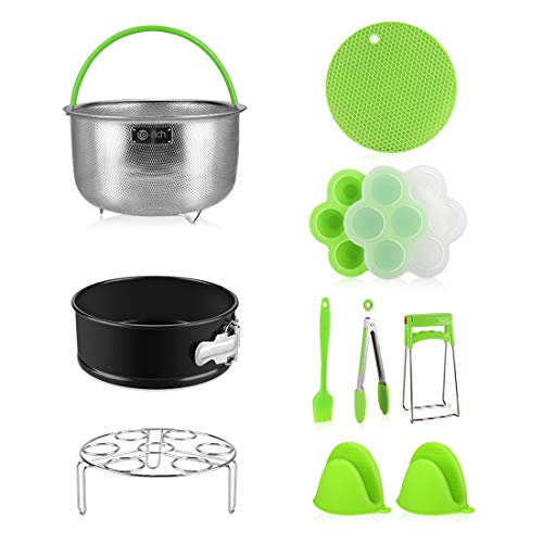 Pressure Cooker Accessories, Fit Insta Pot Instapot 6, 8 Qt – Stainless Steel Steamer Bask ...