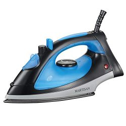 MARTISAN SG-5068 Compact 1200W Steam Iron Nonstick Soleplate Lightweight Iron, Variable Temperat ...