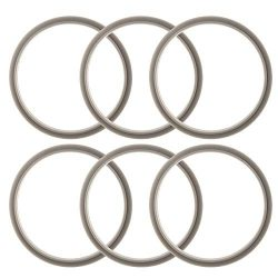 ELEFOCUS Gaskets for Nutribullet 900W and Pro – Pack of 6 Replacements