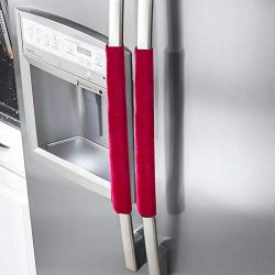 Jinxuny Anti-Skid Handle Protector Gloves Refrigerator Door Handle Covers Kitchen Appliance Deco ...