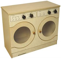 Childcraft Modern Kids Washer and Dryer Combo, 29-1/2 x 13-3/8 x 24-3/8 Inches