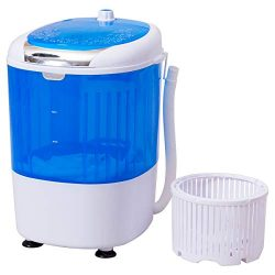 COSTWAY Washing Machine and Spiner, Electric Compact Laundry Machines Portable Durable Design Wa ...
