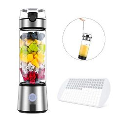 Smoothie Blender, Ayyie Personal Blender, Rechargeable Portable Blender Juicer Cup, Multifunctio ...