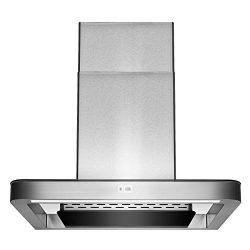 AKDY 30″ Wall Mount Stainless Steel Push Panel Kitchen Range Hood Cooking Fan