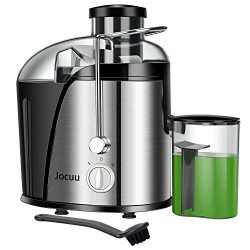 Jocuu Juicer Machine, Centrifugal Juicer Juice Extractor Wide Feed Chute Easy to clean, 2 Speed  ...