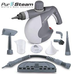 PurSteam World's Best Steamers Chemical-Free Cleaning. Pressurized Cleaner with 9-Piece Ac ...