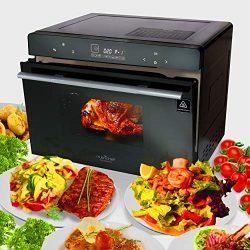 Electric Countertop Multifunction Convection Oven – 1800W 42QT Smart Digital Stainless Ste ...