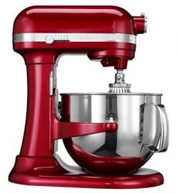 Kitchenaid Professional 600 Stand Mixer 6 quart, Candy Apple (Renewed)