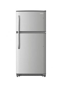 Daewoo RTE18GSSLD Top Mount Refrigerator, 18 Cu.Ft, Stainless