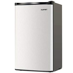 Kuppet-Mini Refrigerator Compact Refrigerator-Small Drink Food Storage Machine for Dorm, Garage, ...