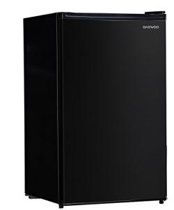 Daewoo FR-044RVBE Compact Refrigerator 4.4 Cu. Ft. | Black